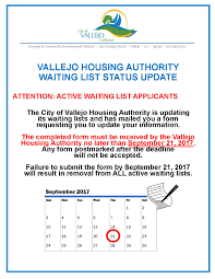 Vallejo Zip Code Map by Vallejo Housing Authority City Of Vallejo