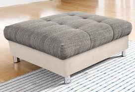 sofa hocker hocker kaufen gepolstert stoff holz otto