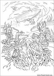 dessins de peindre et couleur pirates des caraïbes imprimer