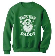 santa sweater who s your sweatshirt santa sweater swag