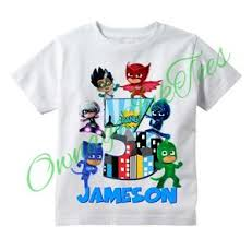 pj masks villain custom shirt personalize u0026 age luna