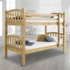 American Solid Honey Pine Wooden Bunk Bed - Pine bunk bed