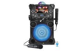 light up karaoke machine singing machine fiesta plus