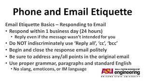 Business Email Etiquette by Phone And Etiquette What You Should Know Before You Hit Send