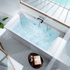 Acrylic Bathtub Acrylic Bathtub Hydromassage Vythos Roca