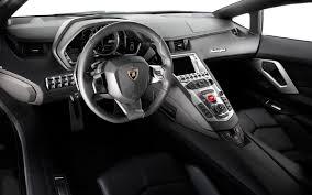 Lamborghini Aventador All Black - lamborghini aventador lp700 4 interior motor trend