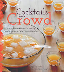 cocktails for a crowd tipple sheet