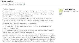 Zu früh gefreut….. OnlineZeitung24, Denis Wisotzki, Dr ...