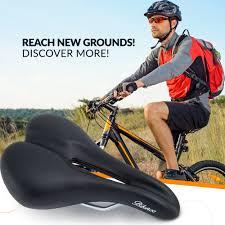 Comfort Bike Seat Bikeroo Comfortable Bicycle Seat For Men Men U0027s Bike Seats U0026 Saddles