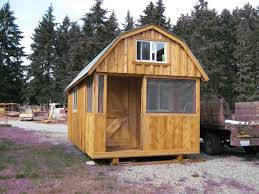 Shed Style House by Rough Cut Sheds Barn Style