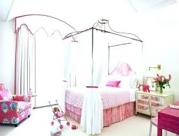 Princess Canopy Bed Princess Bed Canopy White Or Pink Bed Canopy Disney Princess Bed