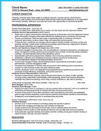 Examples Of Banking Resumes Breakupus Nice Resume Samples Leclasseurcom With Engaging Resume