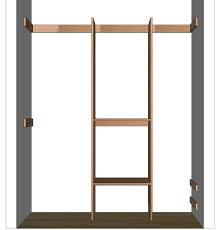 marvellous build a closet organizer diy roselawnlutheran