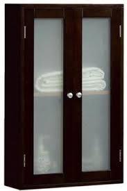 bathroom storage above door niche in wall cabinet over toilet