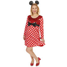 Minnie Mouse Womens Halloween Costume Mommy Mouse Maternity Costume Buycostumes