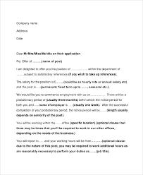 employment offer letters hrd no 5 offer letter sample employment