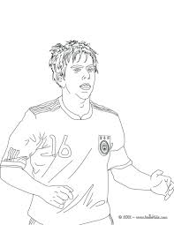 germany christmas coloring sheets football player page countries