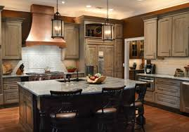 Driftwood Kitchen Cabinets Kitchen Stories Warm And Rustic Kitchen Remodel