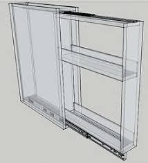 Kitchen Cabinet Spice Rack Slide 3