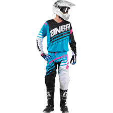 motocross gear package deals answer 2017 mx gear new alpha cyan blue white black dirt bike
