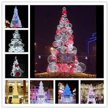 25ft 30ft 40ft 45ft 60ft led tree for outdoor shopping mall