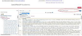 lexisnexis web services finding cases with westlawnext u0026 lexisnexis academic student
