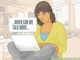 3 ways to follow up on a job application wikihow
