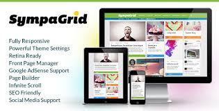 grid layout for wordpress sympagrid responsive grid wordpress theme by pukkathemes themeforest