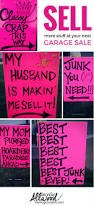 how to advertise for a garage sale with clever signs yard sale