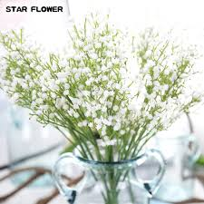 silk baby s breath flower 10pcs artificial baby breath silk babysbreath