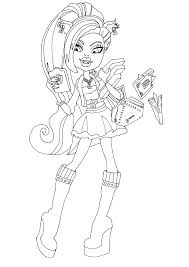 free printable monster high coloring pages october 2013