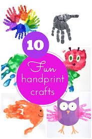 10 amazing handprint craft ideas for