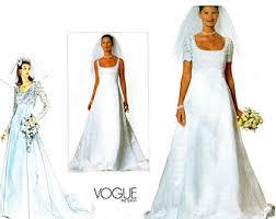 vogue wedding dress patterns wedding dress pattern heirloom bridal gown patterns