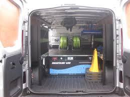 renault trafic back renault trafic sport window cleaning van dual operator