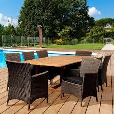 Teak Patio Dining Sets - amazonia coventry 9 piece teak patio dining set sc dian oval ninia