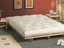 futon home decor fashionable bed frame with storage two drawers