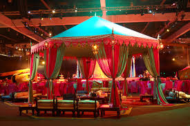Indian Themed Party Decorations - kimaya catering service