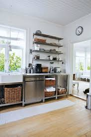 metal kitchen cabinets ikea metal kitchen cabinets ikea rustic kitchen and baskets open shelves