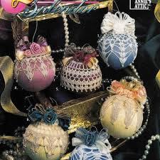 beaded crochet ornament cover free crochet pattern