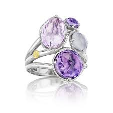 cluster rings tacori engagement rings lilac blossoms precious cluster ring