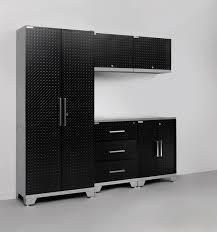 steel garage storage cabinets metal garage storage cabinets black steel workshop pinterest