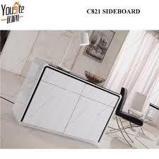 high glosss white sideboard modern white mdf sideboard buffet