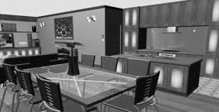beautiful houses interior kitchen imanada dark modern house design