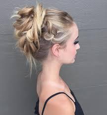 Trendige Hochsteckfrisurenen F Mittellange Haare by 27 Trendige Hochsteckfrisuren Fur Mittellanges Haar 585cf04a1291b