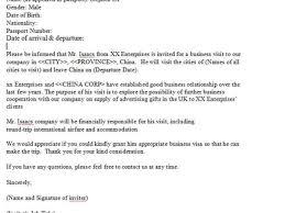 31 invitation letter for visiting visa visa invitation letter