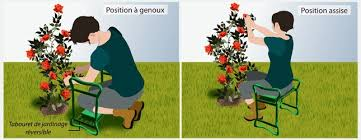 siege de jardinage ménager dos pour jardiner longtemps jardiner avec jean paul