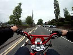 road legal motocross bike onboard my shineray xy50pyie road legal pit bike youtube