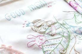 embroidery baby blankets embroidery pattern embroidered