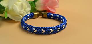 braided friendship bracelet images Kumihimo tutorial how to make a blue kumihimo braided friendship jpg