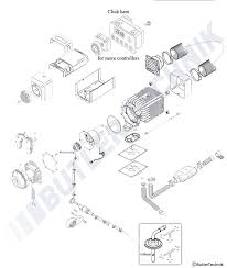 webasto air top evo 5500 parts pipes plugs u0026 more